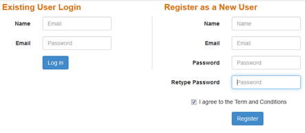 New User Registration